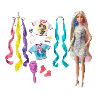 Кукла Barbie Mattel Барби Фантазийные образы (Фантастические волосы)