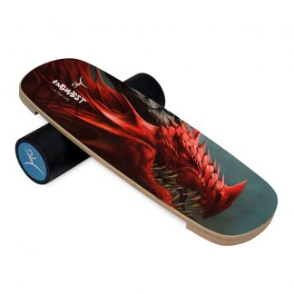 Баланс борд InGwest Red Dragon (Balance Board Training System) с прорезиненным роллером
