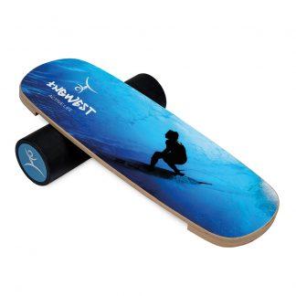 Баланс борд InGwest Surfer Mini (Balance Board Training System) с прорезиненным роллером