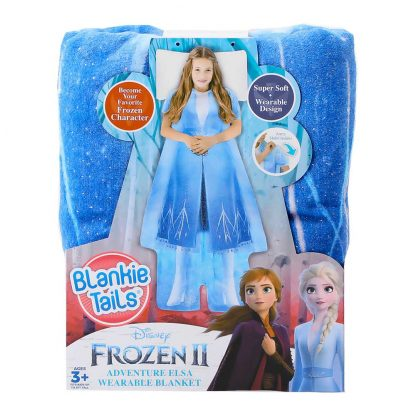 Плед-Платье Blankie Tails Серии Disney: Холодное Сердце 2 – Эльза