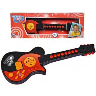 Детская электронная гитара Simba Мой первый инструмент My Music World 43 см