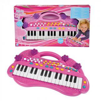 Детский музыкальный инструмент Электросинтезатор Simba Девичий стиль