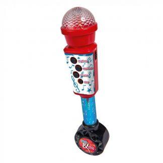 Детский Микрофон с разъемом для МР3 Simba Plug and play My Music World 28 см