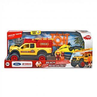 Витрина магазина: Игровой набор Dickie Toys Playlife Пляжный патруль Внедорожник с эффектами