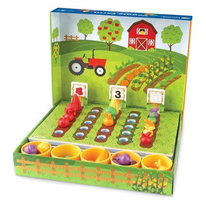 Обучающий Игровой Набор-Сортер Learning Resources Умный Фермер