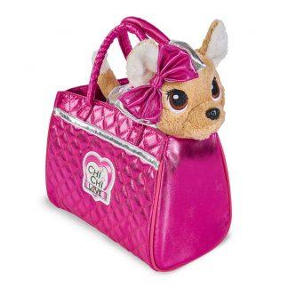 Мягкая игрушка Chi Chi Love Чихуахуа Модный гламур с сумочкой 20 см