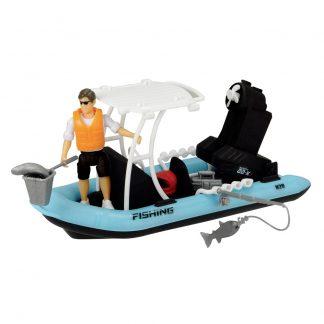 Игровой набор Dickie Toys Playlife Рыбацкая лодка