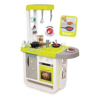 Интерактивная кухня Smoby Черри с аксессуарами и звуком