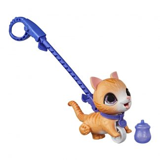 Игрушка-каталка Hasbro FurReal Friends Peealots Котенок бежевый