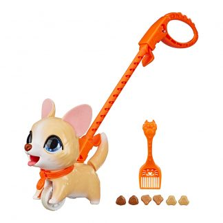 Игрушка-каталка Hasbro FurReal Friends PooPalots Шаловливый питомец Маленький корги