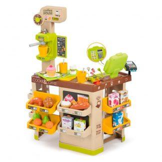 Интерактивная кофейня Smoby с продуктами и аксессуарами